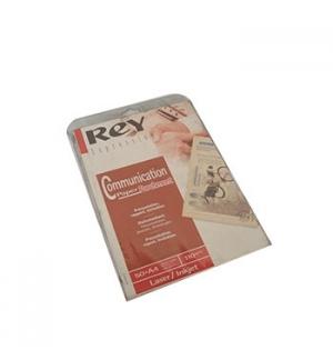 Papel Laser Inkjet Rey Parchement Creme A4 110gr 50 Folhas