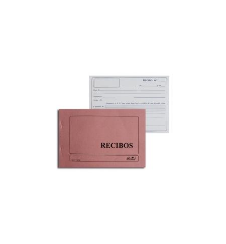 Blocos Impressos-Livro Recibos Comerciais para Empresas 1un