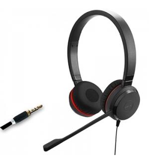Headset JABRA EVOLVE 30 II HS Stereo 3.5mm Preto