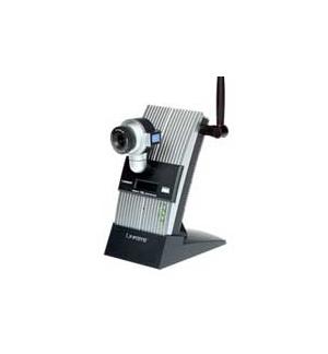 Camara Linksys Wireless PTZ Internet Audio e Controlo Remoto