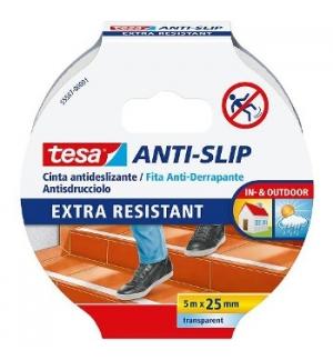 Fita Adesiva Tesa Anti-Derrapante 15mx25mm Preto