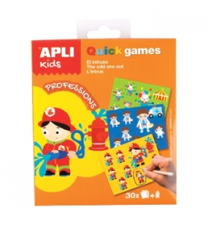 Jogo Apli Kids Quick Games Tema Profissoes 1un