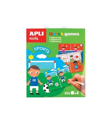 Jogo Apli Kids Quick Games Tema Desporto 1un
