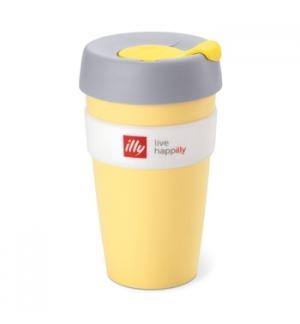 Copo Illy KeepCup Travel Mug Amarelo 1un - nownextnew