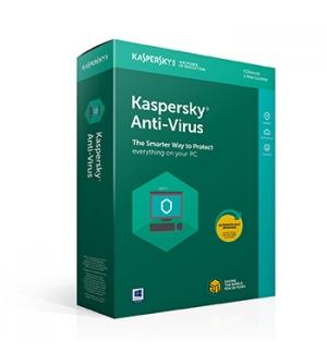 Kaspersky Anti Virus 2019 3 user Renewal