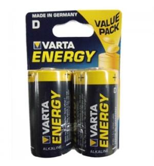 Pilhas Alcalinas Varta Energy LR20 (D) 15V 15000mAh 2un