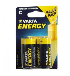 Pilhas Alcalinas Varta Energy LR14 (C) 15V 7000mAh 2un