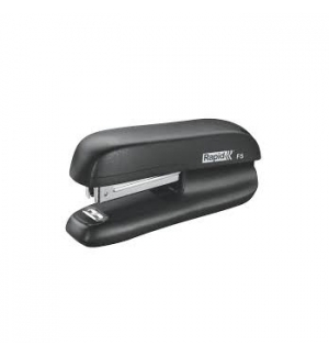 Mini Agrafador N10 para 10 Folhas Rapid F5 Preto