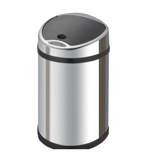 Caixote Lixo Inox C/Sensor 12 Litros