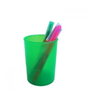 Porta Lapis Translucido Verde
