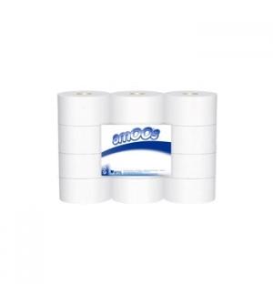 Papel Higienico (Jumbo) Amoos 2Fls 250mts (Pack12)