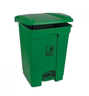 Contentor Plástico c/Pedal 45 Litros Verde