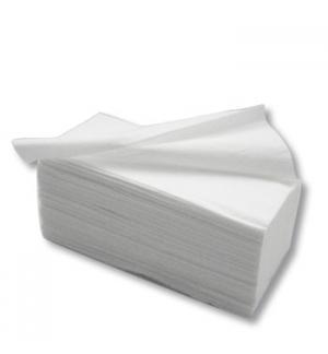 Toalhas Maos ZigZag 23x21cm 2Fls CleanSpot Branco (3000un)