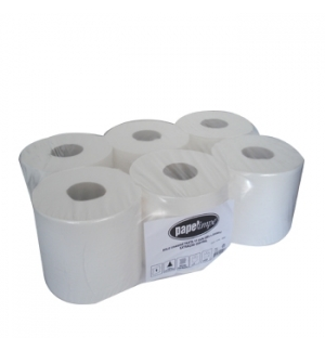 Rolo Toalhas Mao 350mts 1Fl Pack 6 Rolos