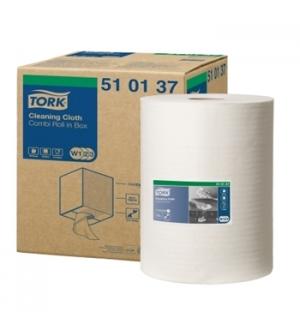 Rolo Pano Limpeza TORK TNT Branco 38cm (152mts)-1un