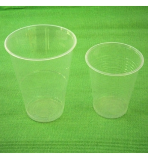 Copos Plastico Transparente (Agua) 350ml-(Pack50)