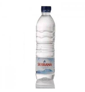 Agua SERRANA 050lts (Pack 24)