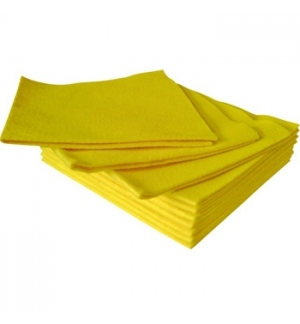 Pano Multiusos Suave Amarelo 40x38cm - 1un