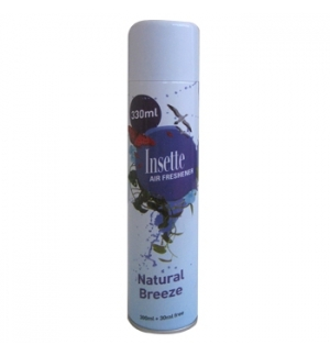 Spray Ambientador Insette 330ml Natural Breeze