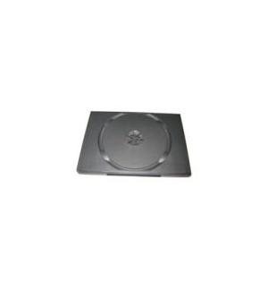 Caixa para CD/DVD 7mm - Preto Rectangular 1un