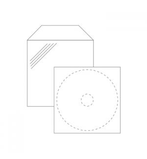 Bolsas de plastico para 1 Cd Pack 100un