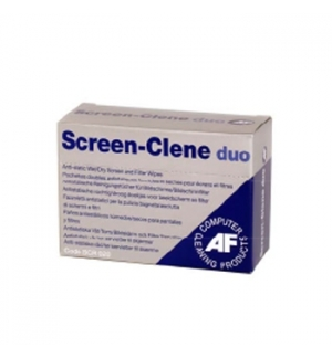 Limpeza Ecrans (AF Screen-Clene) - Lencos Impr 20 Saq Duplas
