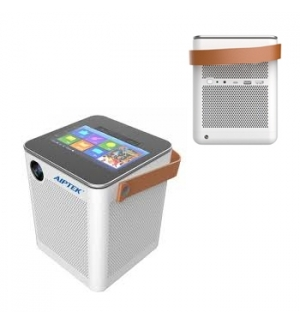 Videoprojector AIPTEK audio e video boombox projeto p800