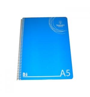 Caderno Espiral A5 Smart Office Capa Cartolina Quadriculado