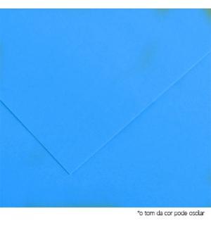 Cartolina 185gr 1 Folha 50x65cm Canson Iris Azul Marinho