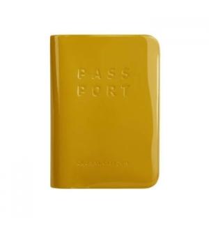 Capa para Passaporte Amarelo Torrado