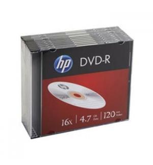 DVD-R HP 4.7GB 16X Slim Case 10