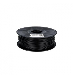 Filamento em ABS de 3mm preto 1 Kg