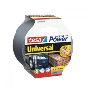 Fita Adesiva Tecido Tesa Extra Power Univ 50mmx10m Cinza
