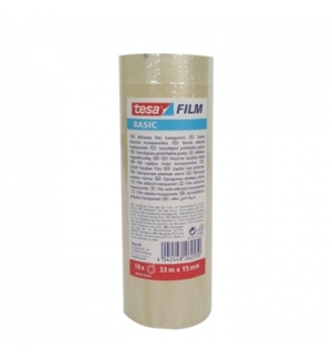 Fita Adesiva 15mmx33mts Clear Tesa Basic 1unid