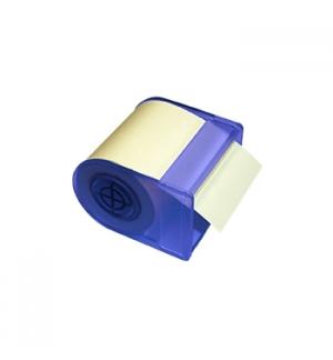 Dispensador Bloco Adesivo em Rolo 60mmx10mts Amarelo