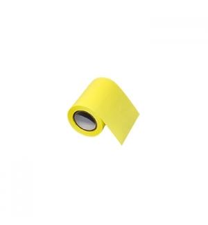 Bloco Adesivo em Rolo 60mmx8mts Amarelo Brilhante