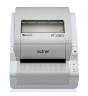 Impressora Etiquetas Talões TD-4100N USB Serie Rj45