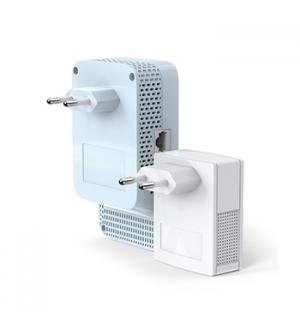 Kit 2 Adap PowerLine TP-Link AV1000 Gigabit ac Wi-Fi