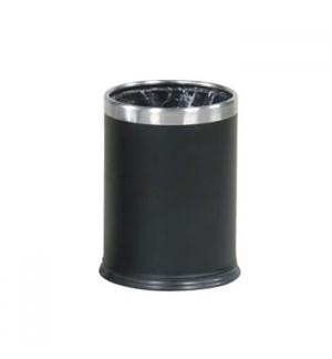 Papeleira Hide-A-Bag Aco 13 Litros Preto