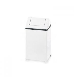 Papeleira Metal Aco Revestido 60 Litros Branco