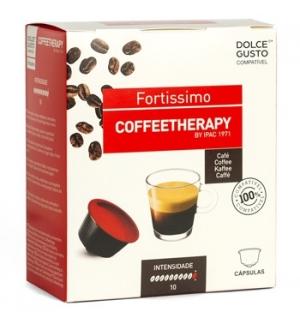 Café Cápsulas CoffeeTherapy Fortissimo DG 16un