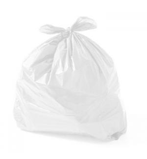 Sacos Lixo 30L Fecho Branco 14my 55x60cm 15un