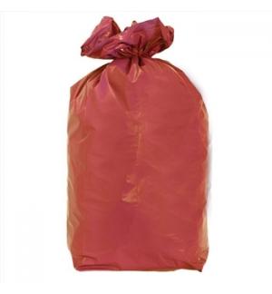 Sacos Lixo 100/120L Vermelho 20Kg 85x105cm Rolo 20un