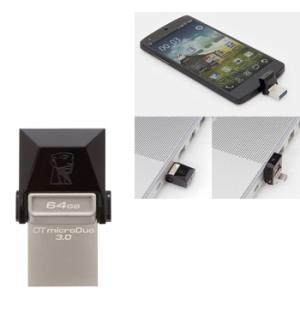 Flash Drive 64GB Kingston DataTraveler microDuo USB 30