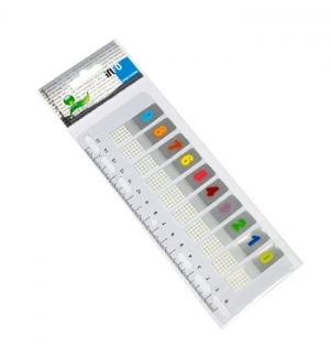 Post-It Index numerado 12x44mm 10un
