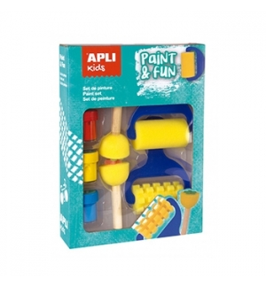 Kit Pinturas Apli Kids Paint & Fun