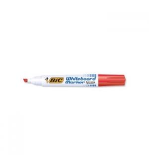 Marcador Quadros Brancos BIC 1751 Vermelho - 1un