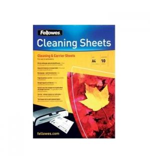 Folhas de limpeza para plastificadora A4 Pack10