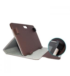 Capa Tablet Sport Safe 7 a 8 Pol Castanha