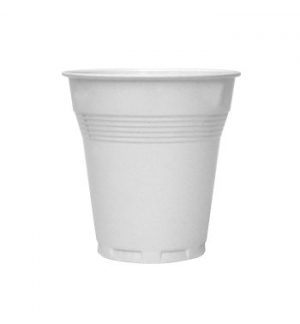 Copos Plastico Branco (Cafe)(Anti-Estatico) 150ml-(Pack100)